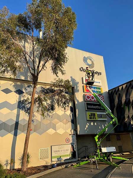 Ocean Keys Shopping Centre Garden Upgrade